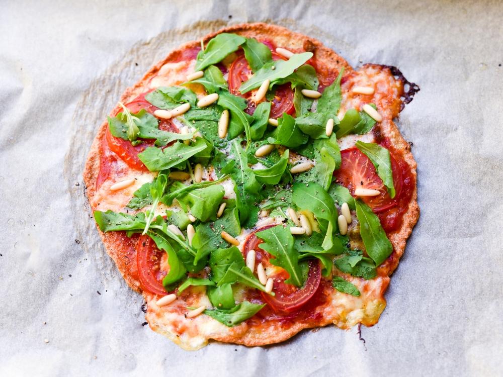 Terveellinen ja gluteeniton pizzapohja kvinoasta