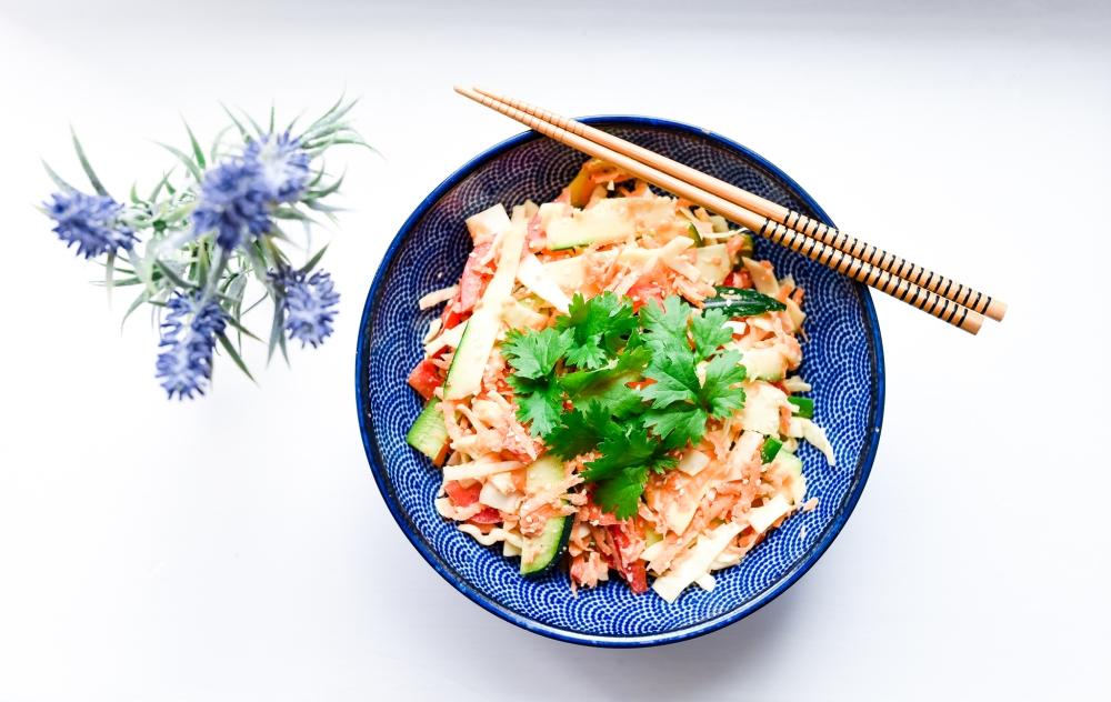 Thaimaalainen ruoka pad thai